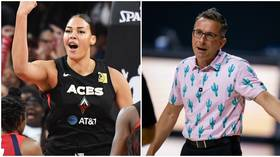 WNBA coach cops $10K fine and suspension after 'offensive' comments about Liz Cambage's weight