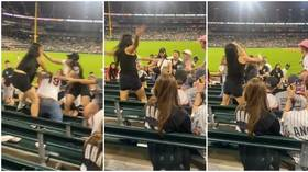 WATCH: Wild female brawl breaks out at White Sox-Cardinals baseball game as fans howl with delight