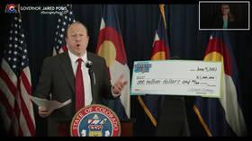 'Comeback Cash': Colorado launches $1 million Covid-19 'vaccine lottery' modeled on successful Ohio initiative