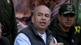 Bolivia's ex-interior minister who sought Evo Morales' arrest for 'terrorism' is arrested in US on bribery charges