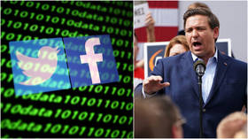 Big Tech lobbies sue Florida over new law that seeks to punish social media firms for censorship, shadowbanning & deplatforming