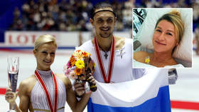'Tired but happy': Champ Tatiana Volosozhar hailed by stars including Elizaveta Tuktamysheva on 2nd child with lover Maxim Trankov