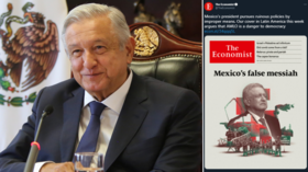 The Economist brands Mexico's AMLO 'false messiah' but president's supporters find article unoriginal, hypocritical & ridiculous