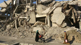 EU pledges aid to an anti-Damascus region in the name of Syrian sovereignty but sanctions Assad government for being sovereign