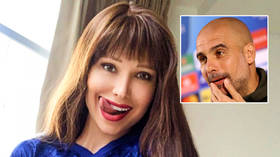 'I love Chelsea but Guardiola is so sexy': Blues superfan Maria Liman sounds alarm about Man City's Spanish supremo (PHOTOS)