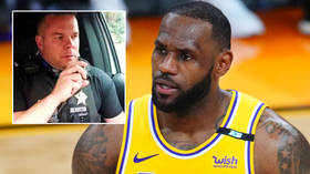 Police officer who was fired after TikTok video mocking NBA social warrior LeBron claims he is 'latest victim of cancel culture'