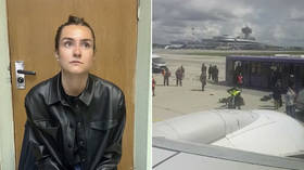 Russian woman arrested in Minsk after grounding of Ryanair flight could be deported home after trial, says Belarus' chief diplomat
