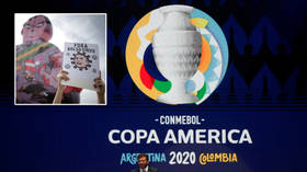 'Championship of DEATH': Neymar urged to lead Copa America boycott as critics speak out on Covid-hit Brazil's hosting of showpiece