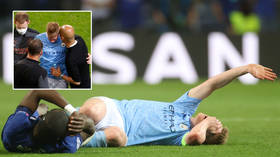 De Bruyne has 'almost no chance' for Euro 2020 and will not make Russia opener, ex-national team doctor warns after horror injury