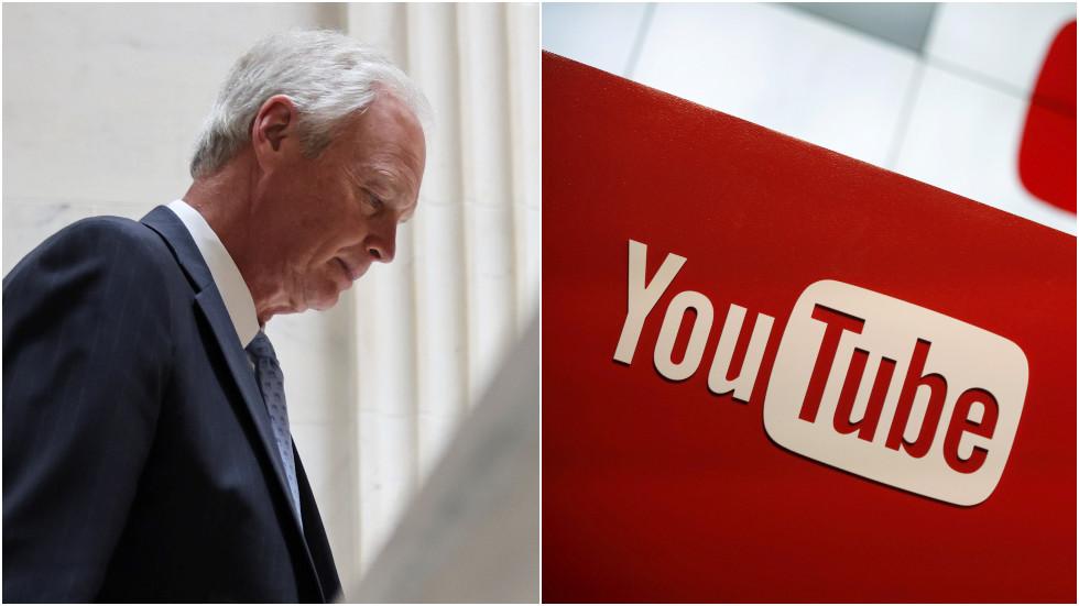 YouTube suspends Senator Ron Johnson for Covid-19 'misinformation'