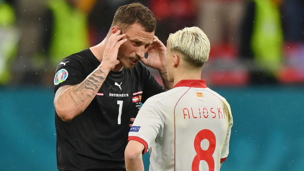 Marko Arnautovic handed one-match Euro 2020 ban for insulting North Macedonia star during Austria's fiery opening Euro 2020 win