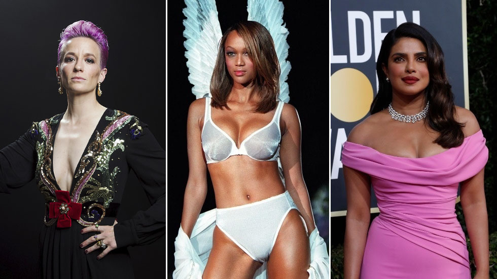 Limping Victoria's Secret grounds angels & hires female success icons like Megan Rapinoe & Priyanka Chopra as new faces of brand