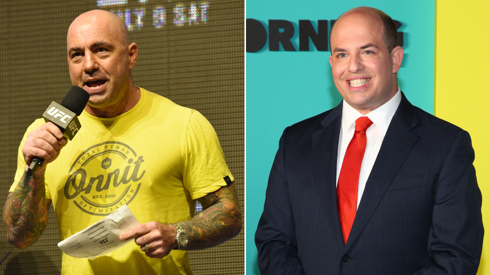'Your show's f**king terrible': Joe Rogan pounces on Brian Stelter, says CNN host 'not a real human'