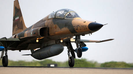 Iranian F-5 fighter jet. © Ebrahim Norouzi / Fars News / AFP