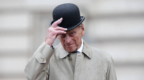 Britain's Prince Philip, Duke of Edinburgh, in his role as Captain General. © Yui Mok / POOL / AFP