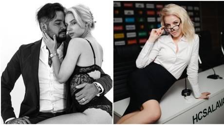 Rostislav Murzagulov and Ulyana Trigubchak caused a stir with their photoshoot. © Instagram @uly_3gubchak