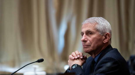 FILE PHOTO: Dr. Anthony Fauci, director of the National Institute of Allergy and Infectious Diseases