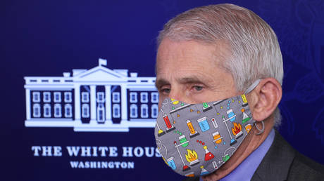 FILE PHOTO: National Institute of Allergy and Infectious Diseases Director Dr. Anthony Fauci