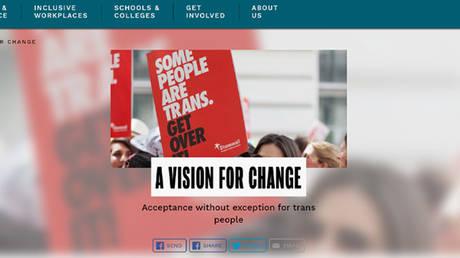 Screenshot © stonewall.org.uk/vision-change