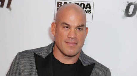 Tito Ortiz announced he was stepping down from his role in California. © Getty Images via AFP