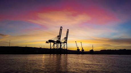 Gawadar port Harbor, Pakistan. © Getty Images / Aleem_khan