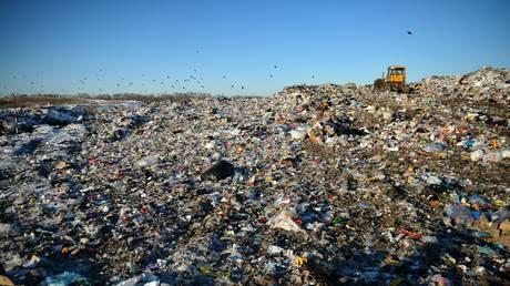© Solid waste landfill near Kamensk-Uralsky, Sverdlovsk region