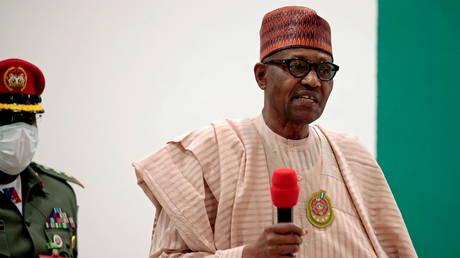 Nigerian President Muhammadu Buhari, December 18, 2020 file photo.