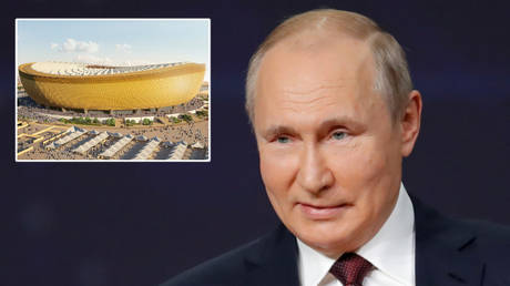 Vladimir Putin has backed the 2022 World Cup in Qatar © Reuters | © Dmitri Lovetsky / Reuters