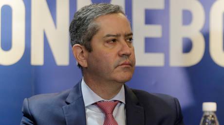 Brazilian FA president Rogerio Caboclo © Jorge Adorno / Reuters