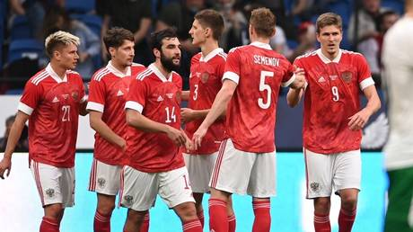 Russia ended their Euro 2020 preparations with victory against Bulgaria on Saturday. © Sputnik.