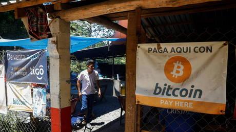 FILE PHOTO: People use Bitcoin in El Zonte Beach in Chiltiupan, El Salvador