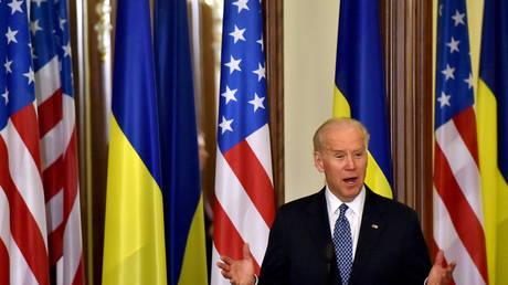 FILE PHOTO: Joe Biden in Kiev
