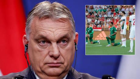 Viktor Orban watched Hungary draw with Ireland © Bernadett Szabo / Reuters