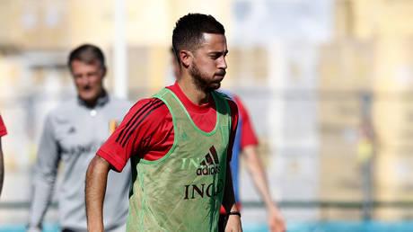 Injury-plagued Belgium star Eden Hazard set to start on bench for Russia Euro 2020 opener