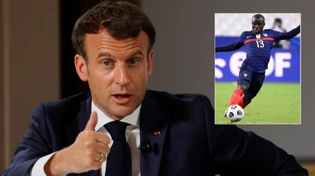 'He is an example': French President Macron backs Kante for Ballon d'Or on visit to France squad ahead  of Euro 2020