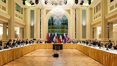 FILE PHOTO: Meeting of JCPOA Joint Commission in Vienna. © Reuters / EU Delegation in Vienna