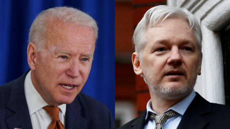 'They're trying to kill Assange because he spoke the truth': Roger Waters calls on Biden to end 'disgusting' sham prosecution