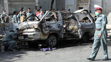 Explosions hit two buses in Kabul, at least 7 killed & 6 injured