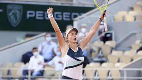 French Open: Barbora Krejcikova outlasts fightback from Russia's Anastasia Pavlyuchenkova to secure crown at Roland-Garros