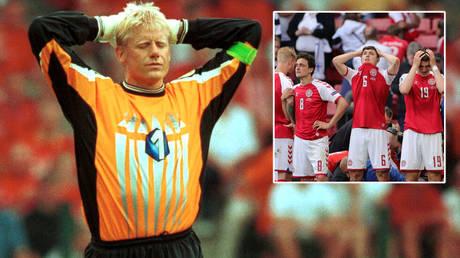Peter Schmeichel says Denmark's players were threatened over Christian Eriksen © Action Images / Richard Heathcote via Reuters © Friedemann Vogel / Reuters
