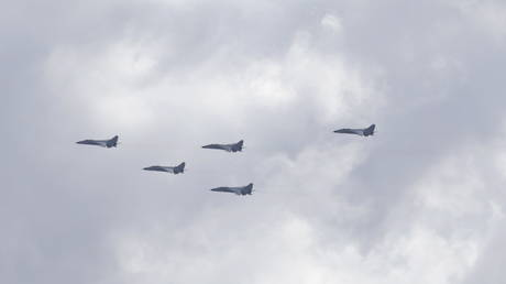 28 Chinese military planes enter Taiwan's air defense zone in largest fly-over to date, Taipei says