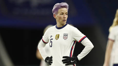'Cancel her': Virtue-signaling soccer queen Rapinoe accused of 'hypocrisy' after emergence of tweet saying teammate 'looks Asian'