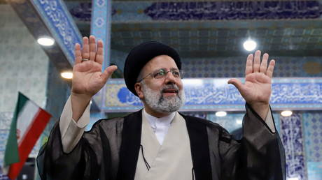 Iran's Rouhani & rival candidates offer their congratulations as Khamenei ally Raisi poised to win presidential contest - rt