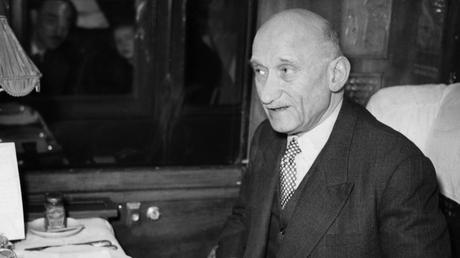 Robert Schuman, 1952. © Getty Images / Ullstein Bild.