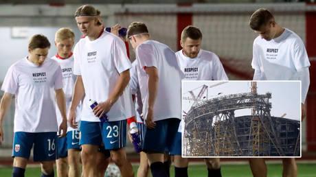 Erling Haaland and Norway will not be boycotting the Qatar World Cup © Kai Pfaffenbach / Reuters | © Jon Nazca / Reuters