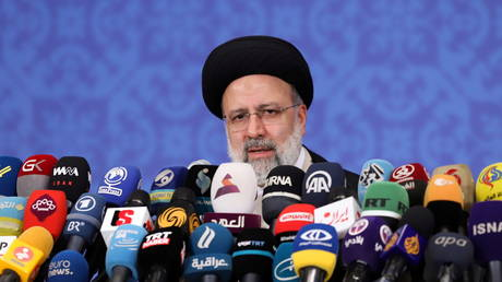 Iran's President-elect Ebrahim Raisi speaks during a news conference in Tehran, Iran June 21, 2021 © Majid Asgaripour/WANA (West Asia News Agency) via REUTERS