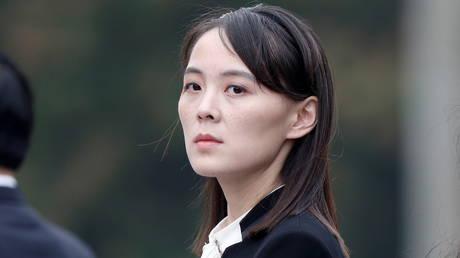 Kim Yo Jong, sister of North Korea's leader Kim Jong Un in Hanoi, Vietnam. © Reuters / Jorge Silva.