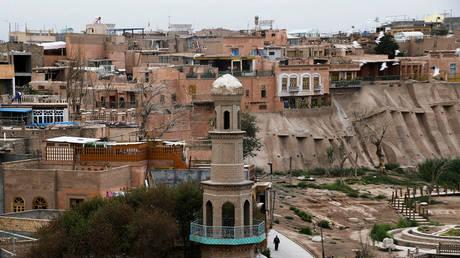 FILE PHOTO. Kashgar, Xinjiang Uighur Autonomous Region, China. © Reuters / THOMAS PETER.