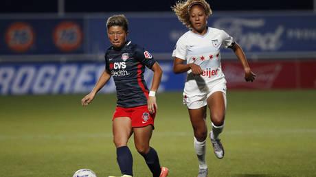 Kumi Yokoyama in action © Jeffrey Swinger / USA Today Sports via Reuters