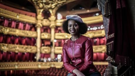South African opera singer Pretty Yende, 2019. © Stephane de Sakutin/AFP
